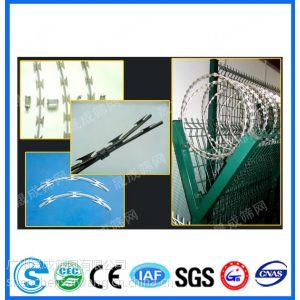 供应深圳304刀片刺网,云浮刀片刺绳,梅州小围墙防护网