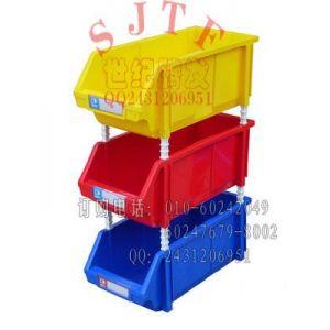 供应组合式零件盒,元件生产流水线上存放盒,折叠式零件盒,可堆式零件盒