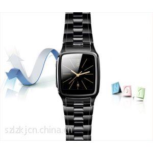 供应2013新款手表手机 超薄防水全钢腕表手机 智能百万摄像迷你小手机