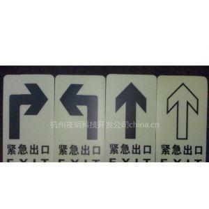 供应地面应急照明自发光蓄光疏散指示标志