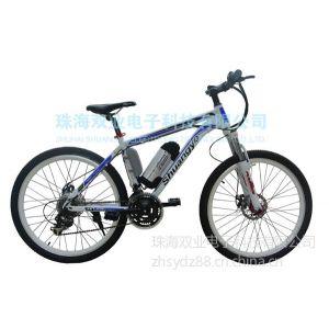 供应26寸电动自行车电动车碟刹电动山地车电瓶车锂电池助力车