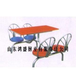 供应不锈钢餐桌,4人连体快餐桌,食堂快餐桌,15314351668
