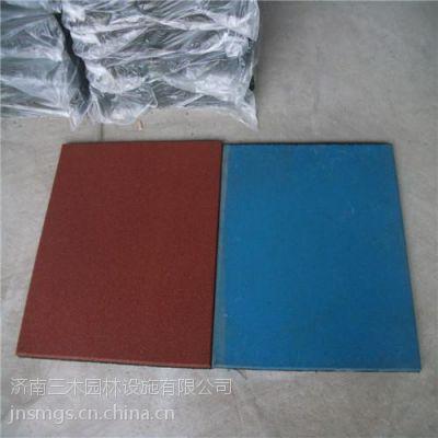 供应彩色橡胶地垫、幼儿园橡胶地垫、济南三木