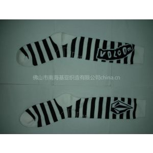 供应品牌长袜(Branded Knee High Cotton Socks)