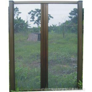 供应高档折叠隐形纱窗,高档折叠门,回卷纱形纱窗,左右拉隐形纱窗