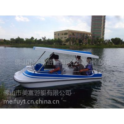 供应2014年新款6人脚踏船批发