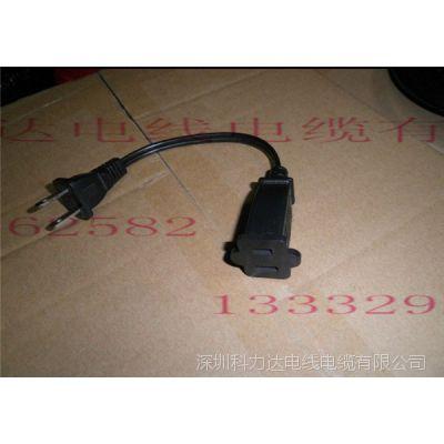 深圳电源线厂家,生产加工美式,美规,UL电源线电器设备用连接线