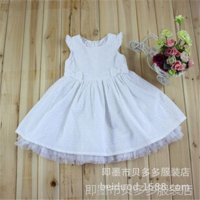 高档韩版童装品牌 儿童夏季裙子 女童公主连衣裙 外贸品质