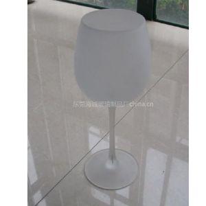 供应海成H552圆形环保201-300ML玻璃高脚杯