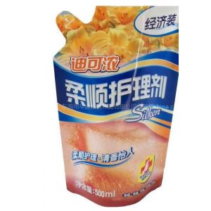 专业生产销售假啤嘴复合包装袋,日化产品包装袋,液体自立袋