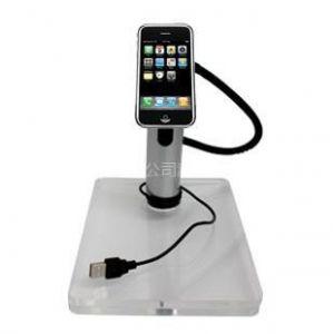 供应山东河南iphone手机展示架IPAD手机防盗展示苹果专卖店数码产品防盗器