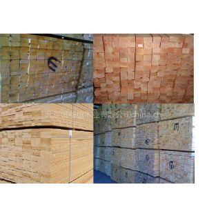 供应北京木材加工 建筑木方 杨木 松木加工