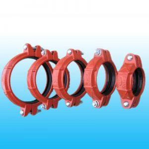 潍坊捷威供应消防沟槽管件,沟槽管道连接件,球铁管件