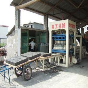 供应唐海液压砌块机尺寸|YG液压制砖机产量