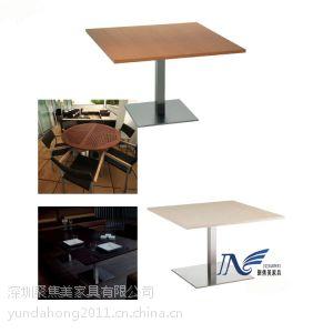 供应深圳咖啡厅餐桌厂家哪里找,当然是聚焦美餐饮家具