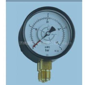 供应德国菲索弹簧管式差压压力表