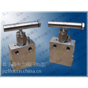 供应不锈钢OKV板式超高压针阀,100MPa高压针阀