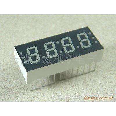 供应LED数码管彩色显示器 白光数码管 三位 四位