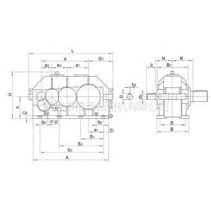 供应优供QY34D315起重机用硬齿面齿轮减速机