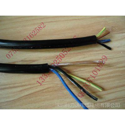 专业生产大功率电源线大机械设备电线电缆RVV8*0.75平方高压电线
