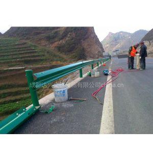 供应公路热镀锌防撞银白色安全波形护栏安装