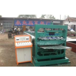 供应金属加工机械屋顶瓦的彩钢瓦设备彩钢板压花成型机