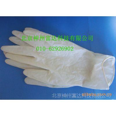 供应加厚防滑乳胶手套 实验室专用手套 无粉乳胶手套