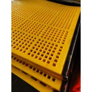 供应聚氨酯筛网 尾矿处理筛  条缝筛