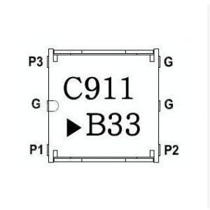 供应 CL05BR0911AAE CL05BL0911AAE 贴片环行器 通信IC