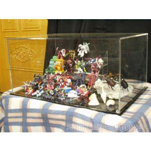 供应供應壓克力收藏品展示箱,亞加力模型展示箱,深圳工厂生产