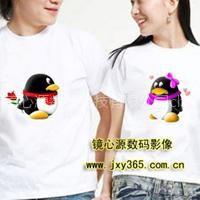 供应河南郑州个性T恤制作、班服队服制作、文化衫定制、情侣衫定制、衣服上印照片