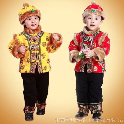 一件代发宝宝唐装儿童唐装新年装 唐装批发  男童唐装男童冬装