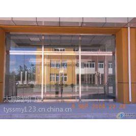 供应太原玻璃门安装 各种感应玻璃门 伸缩门 车库门等15234131793