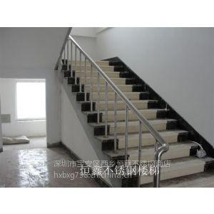 供应深圳恒鑫不锈钢护栏 楼梯护栏 阳台护栏制作安装