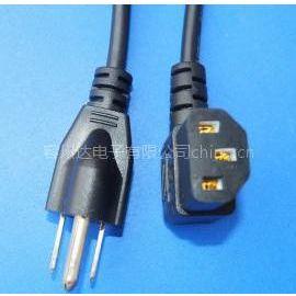 供应UL电源线|美国标准电源线||美规认证电源线|美式插头