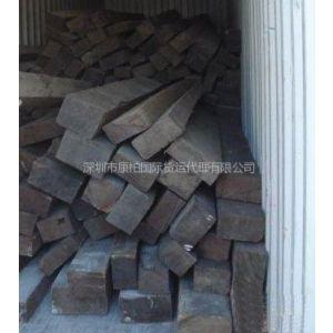 供应进口印尼金车木材海运到中国深圳广州进口海运服务