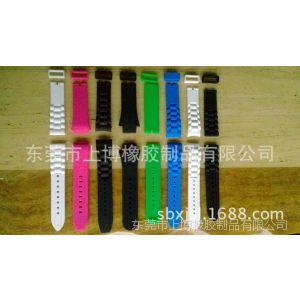 供应精品热销 时尚彩色编织硅胶手表带 高档复古硅胶手表带