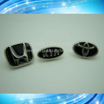 锌合金车标 专业生产金属车标等工艺品
