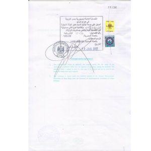 供应香港领事馆埃及认证盖章流程