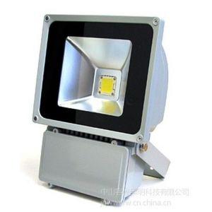 供应工程直销外墙装饰供应单色七彩70W聚成投光灯广告泛光灯