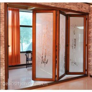 供应天津铝木门窗 高档德奥斯70系列纯木门窗