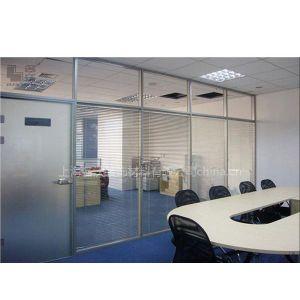 供应供应昆山玻璃隔断厂家/昆山双玻百叶价格咨询电话13917920680