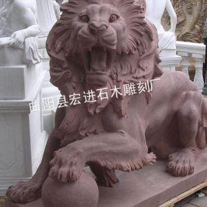 供应河北***精美石雕狮子