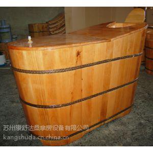 苏州香柏木桶浴桶熏蒸泡澡实木桶沐浴洗澡盆浴缸成人带盖家用