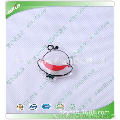 厂家生产 充气标 羽绒充气标 充气羽绒吊牌 PVC羽绒标