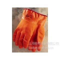供应ANSELL23-700耐低温手套Polar Grip? PVC外部涂层防寒手套