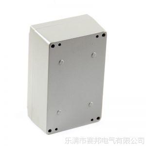 供应铝制防水盒  铝合金接线盒  160*100*65mm铸铝防水盒