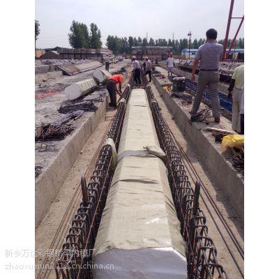 供应泰安公路局桥梁上采用一次性芯模替代传统芯模工艺