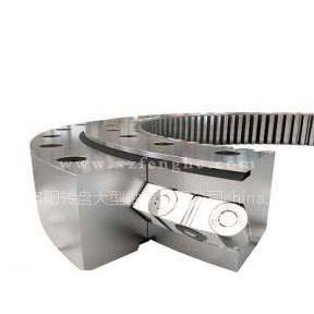 供应单排交叉滚柱式回转支承推力滚子轴承/深沟球轴承/角接触轴承加工