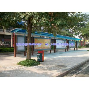 供应江西萍乡公交候车亭、湖南的公交候车亭生产厂家